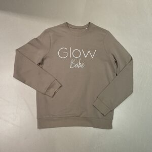 Glow Crew Sweater Beige Babe