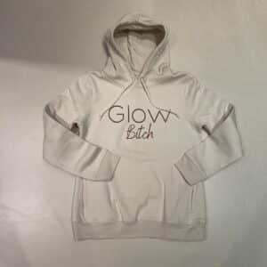 Glow Hoodie Off-White Bitch