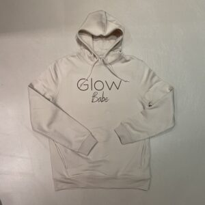 Glow Hoodie Off-White Babe