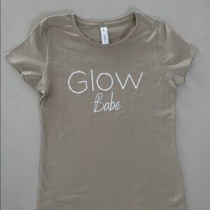 Glow t-shirt Sand Glow Babe