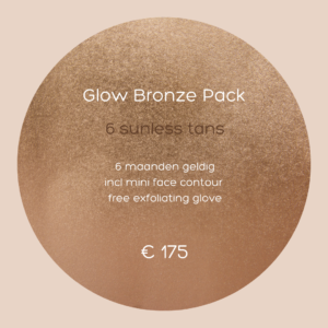Glow Bronze Pack - 6 sunless tans