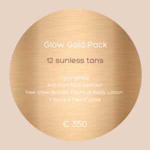 Glow Gold Pack - 12 sunless tans